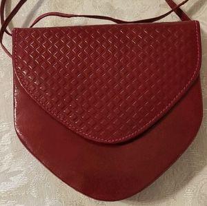 Gorgeous VTG Leather Crossbody Bag
